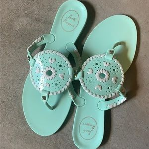 Jack Rogers jelly sandals size 8